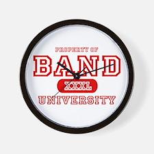 Band University Wall Clock