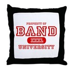 Band University Throw Pillow