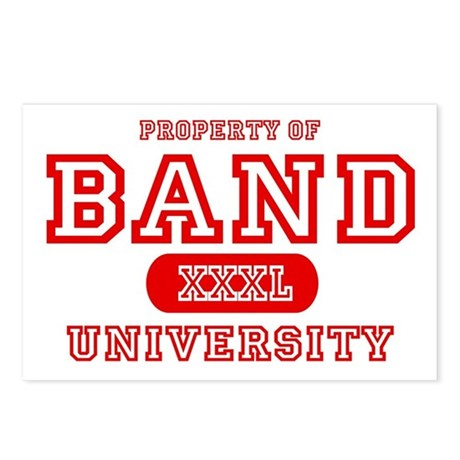 Band University Postcards (Package of 8)