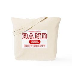 Band University Tote Bag