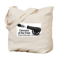 Cannons of the Field Tote Bag