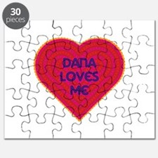Dana Loves Me Puzzle