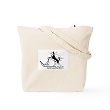 Unique Sleddog Tote Bag