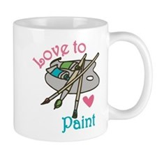 Love To Paint Mug