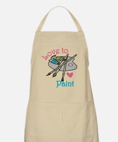Love To Paint Apron