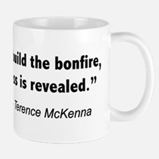 Terence Mckenna bonfire quote Small Small Mug