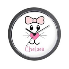 Bunny face customized Wall Clock