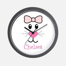 Bunny face customized Wall Clock