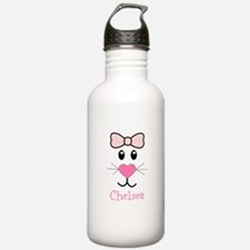 Bunny face customized Water Bottle