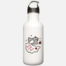 Made With Love Water Bottle