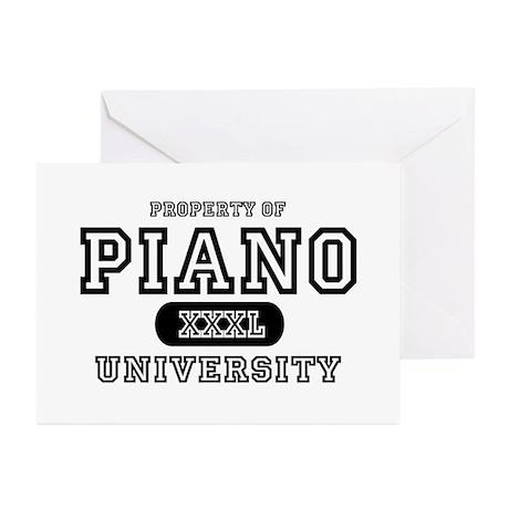 Piano University Greeting Cards (Pk of 10)
