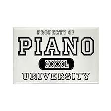Piano University Rectangle Magnet