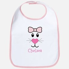 Bunny face customized Bib