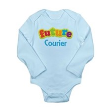 Future Courier Long Sleeve Infant Bodysuit