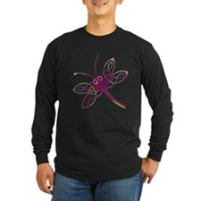 Celtic Dragonfly Long Sleeve T-Shirt