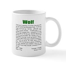 """Wildlife Definition"" Wolf Ceramic Mug"