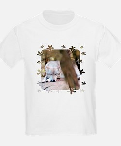 """Wolf"" Kids T-Shirt for Girls"