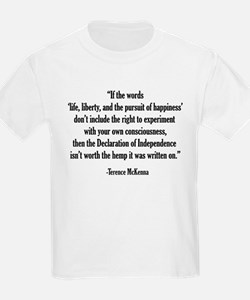 Terence McKenna Quote T-Shirt