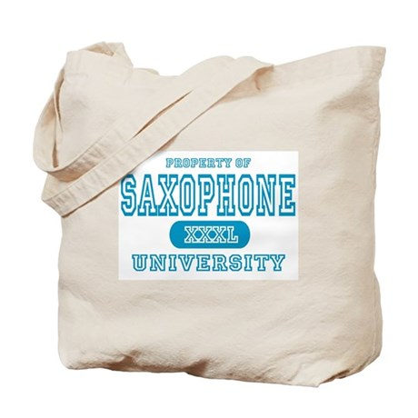 Saxophone University Tote Bag