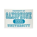 Saxophone University Rectangle Magnet (10 pack)
