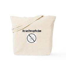 Arachnophobe With Graphic Tote Bag