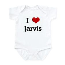 I Love Jarvis Infant Bodysuit