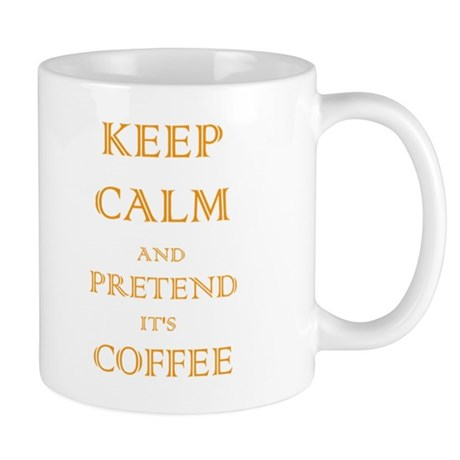 Coffee - Keep Calm (Orange) Mug