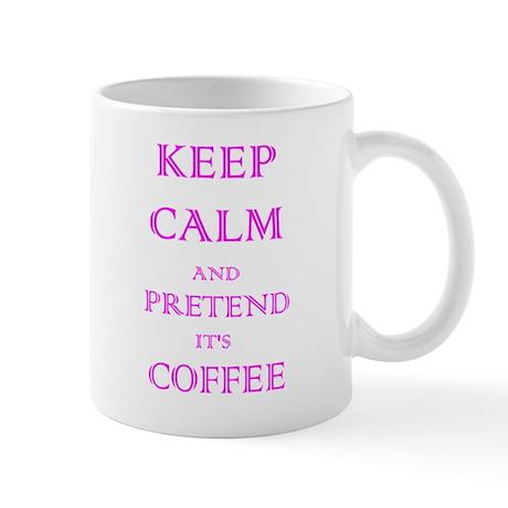 Coffee - Keep Calm (Pink) Mug