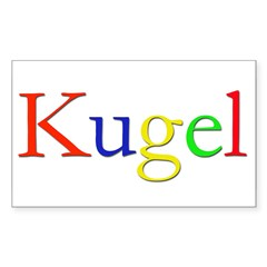 Kugel Rectangle Decal