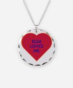 Elsa Loves Me Necklace