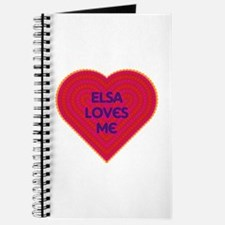 Elsa Loves Me Journal