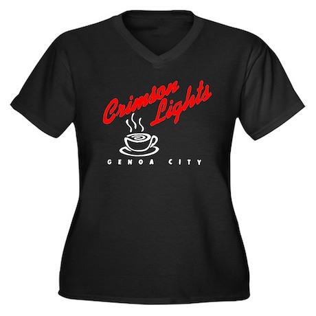 Crimson Lights Logo 02 Plus Size T-Shirt