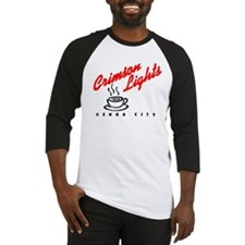 Crimson Lights Logo 01 Baseball Jersey