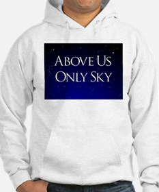 above us only sky Hoodie