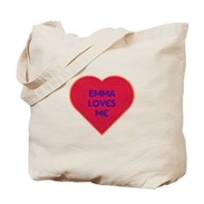Emma Loves Me Tote Bag