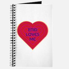 Enid Loves Me Journal