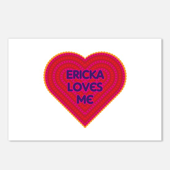 Ericka Loves Me Postcards (Package of 8)