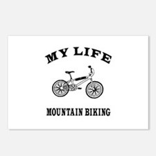 My Life Mountain Biking Postcards (Package of 8)