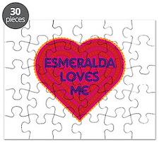 Esmeralda Loves Me Puzzle