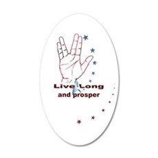 Live Long and Prosper: Wall Decal