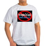 Ash Grey Public Enemy #1 T-Shirt