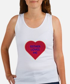 Esther Loves Me Tank Top