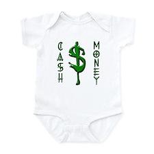 CASH MONEY Infant Bodysuit