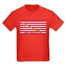Don't Tread on Me Kids Colored T-Shirt