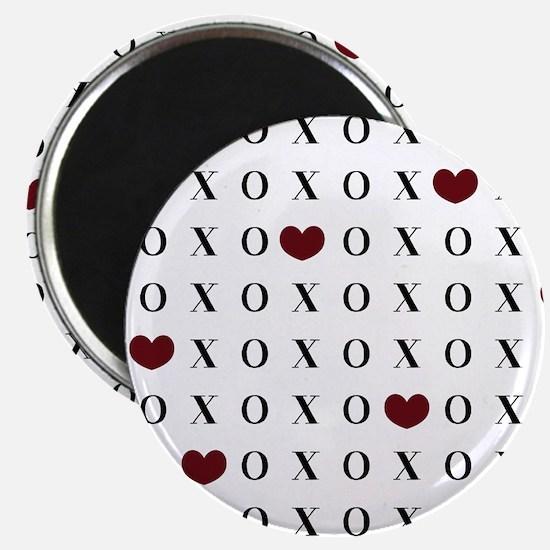 XOXO Hearts Magnet