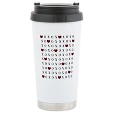 XOXO Hearts Travel Mug