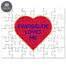 Evangeline Loves Me Puzzle