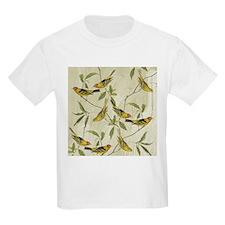 Vintage Yellow Birds T-Shirt