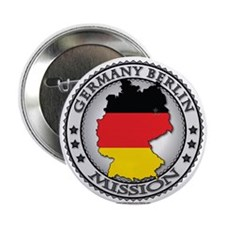 Germany Berlin LDS Mission Flag Cutout Map 1 2.25""