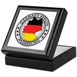 Germany lds missionary Square Keepsake Boxes